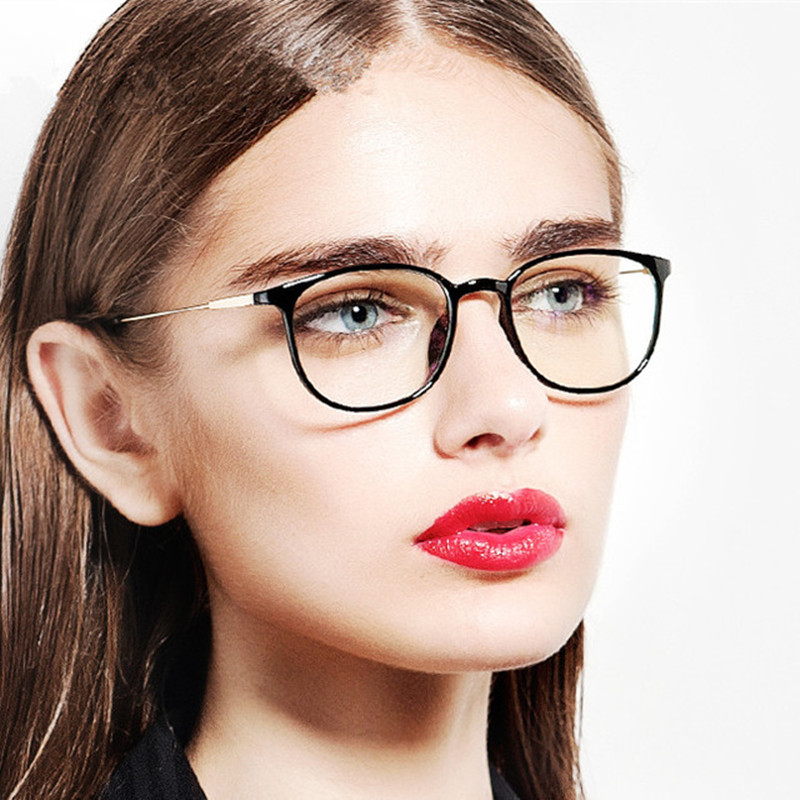 2017 new vintage brand designer glasses frame eye glasses for women ladies eyeglasses myopia optical spectacles