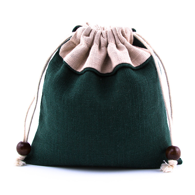 Storage Bag Drawstring Storage Bag Fine Solid Small Items Of Jewelry Change Pouch(China (Mainland))