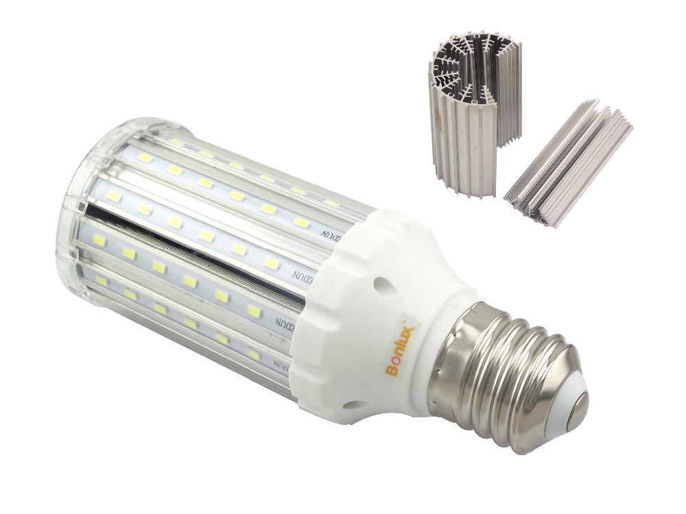 E26 E27 E39 E40 LED Light Bulb 85-265v Ac 25W 30W LED Corn Light for Garden Street Path Lighting Highbay LED Retrofit Bulb(China (Mainland))