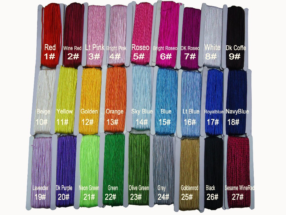 30m=30mX1Roll, 3mm Flat Soutache Nylon Cord+Snake Belly/Concave Jewelry Accessories Macrame Rope Bracelet Necklace Thread String(China (Mainland))
