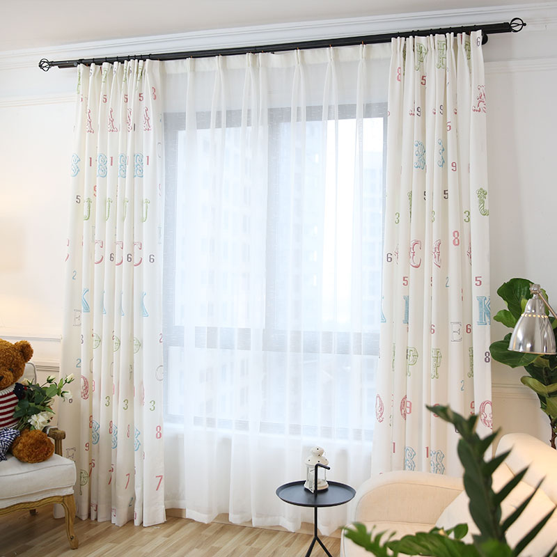 Popular curtain latest design buy cheap curtain latest for Cheap childrens curtain fabric