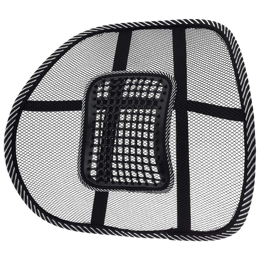 Car Back Seat Support Mesh Lumbar Back Brace Support Cool Summer Car Seat Office Home High Quality Back Seat Cushion(China (Mainland))