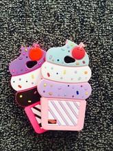 3D New fashion Cute summer ice cream cup case Soft Silicone Back mobile phone Cover Case LG L Bello2 Bello 2 II housing bag - Shenzhen BaoJiaLai Tech Co.,LTD store
