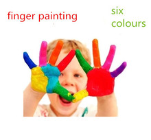 Innovative items learning & Educational children's drawing toys, 6 pcs/set finger painting Toys , baby/kind drawing products(China (Mainland))