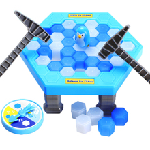 Buy Great Family Fun Game Ice Breaking Game Save Penguin-The Penguin Fall will Lose Toys Children Kids Gift #E for $8.90 in AliExpress store