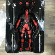 2016 FIRE TOY Marvel Deadpool PVC Action Figure Collectible Model Toy 10″ 27cm
