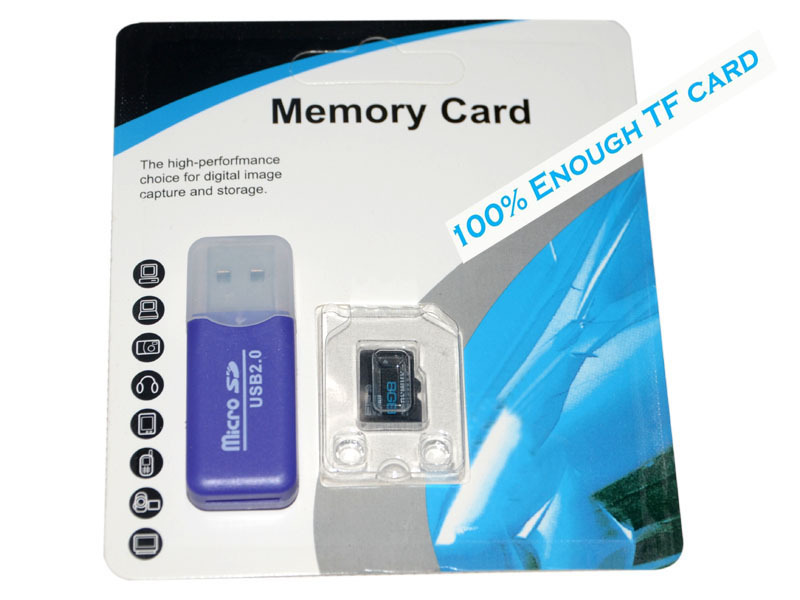 2015 memory card Micro SD 2-4-8-16-32GB class 10 micro Flash TF CARD +SD transfer adapter+card reader - Online Store 833937 store