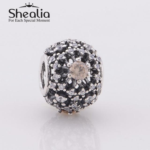 2014 новый проложить циркон ажурные цветы очаровывает женщин подарок стерлингового серебра 925 изделий подходит известный бренд очарование