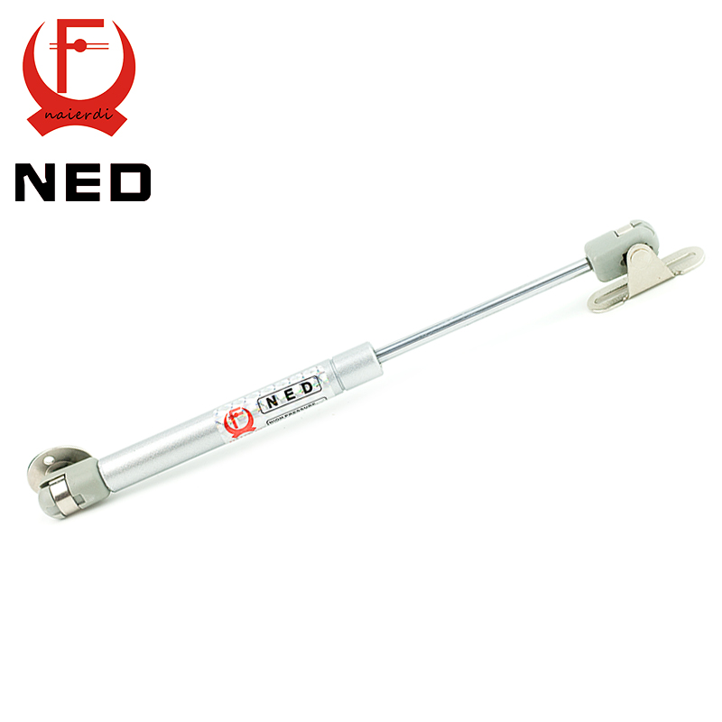 NED 100N /10kg Copper Force Door Lift Support Gas Hydraulic Spring Hinge Cabinet Door Kitchen Cupboard Hinges Furniture Hardware(China (Mainland))