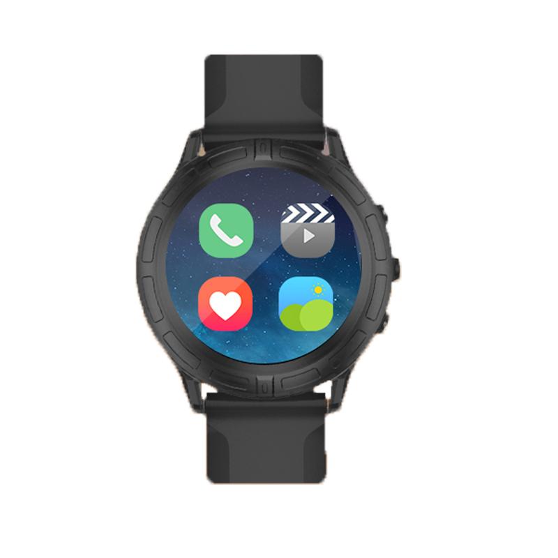 Оригинальный В3 Android носить Смарт-часы двухъядерный Bluetooth часы тепловая мощность монитора Барометр умные часы для iPhone 9026