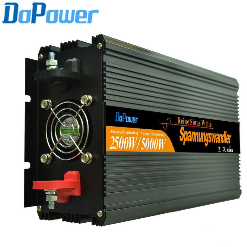 2500W inverter DC24v to AC230v/220v Pure Sine wave Solar Inverter,50Hz Or 60Hz Off Grid Inverter(Hong Kong)