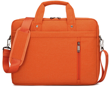12 14 15 17 Inch big size Nylon Computer Laptop Solid Notebook Tablet Bag Bags Case Messenger Shoulder unisex men women Durable(China (Mainland))
