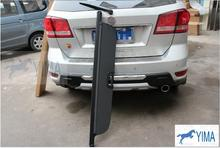 Black Rear Trunk Cargo Cover Shield For Fiat Freemont 7-Seat Model 2011 - 2014(China (Mainland))