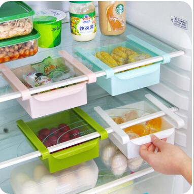 New Fashion Multifunction Storage Rack Creative Kitchen Tool Refrigerator Storage Rack Free Shipping(China (Mainland))