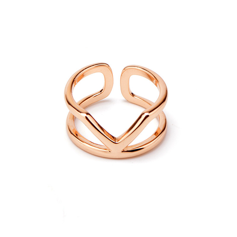 2015 rose gold plating platinum plating fine jewelry brass for Jewelry storm arrow ring