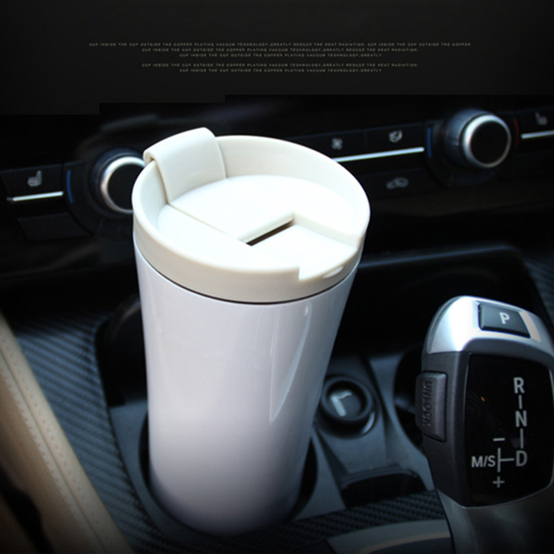 2016 New Fashion Thermos Cup Double Wall Stainless Steel Thermos Mug Coffee Cup Modern Insulation Vacuum Thermos Flask(China (Mainland))