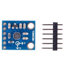 HMC5883L 3 Axis Electronic Compass Magnetometer Sensor Module 3V-5V For Arduino #47168