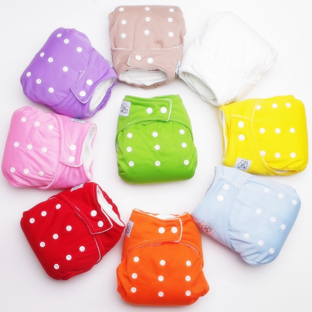 HOT 1 PCS Reusable Baby Infant Nappy Cloth Washable Diapers Soft Covers Free Size Adjustable Fraldas Winter Summer Version(China (Mainland))