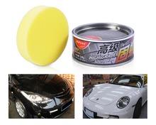 High Grade Car Solid Wax Ultra High Gloss Versatile Paint Cleaner For Mercedes-Benz W212 Audi A4 Q7 BMW F30 VW Golf Kia Sportage(China (Mainland))