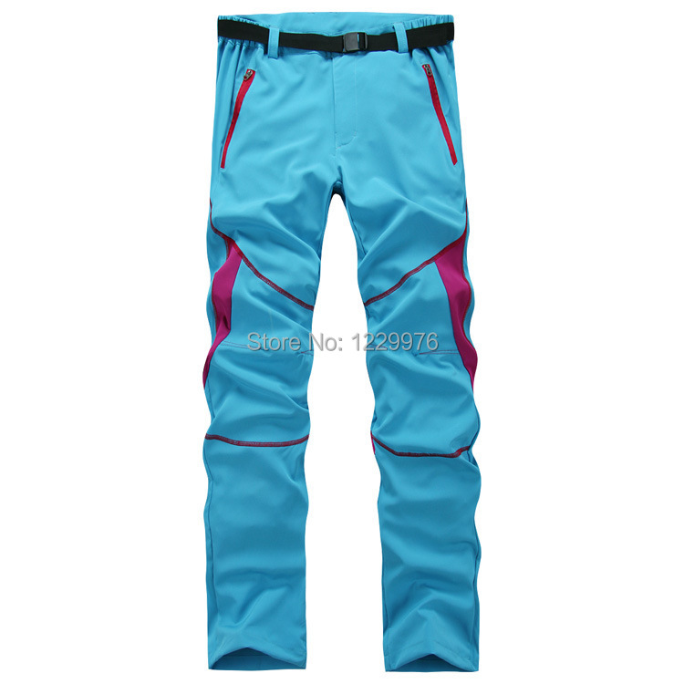 No Logo 2015 Women Summer Style Outdoor Hiking&Camping Pants Quick Dry Breathable Fishing&Hiking Trousers High Quality 8 Colors(China (Mainland))