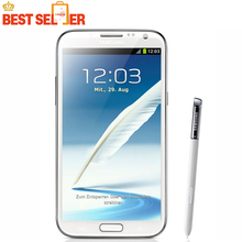 "Original Samsung Galaxy Note II 2 N7100 Android Quad Core phone 5.5"" 2GB RAM 16GB ROM 3G NFC Refurbished(China (Mainland))"