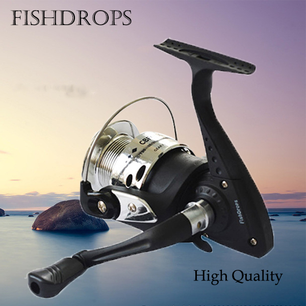 Free Shipping Daiwa Technology Left/Right Hand 5.2:1 Spinning Wheel 4BB Front Drag Spinning Reel Ice Fishing Wheel(China (Mainland))