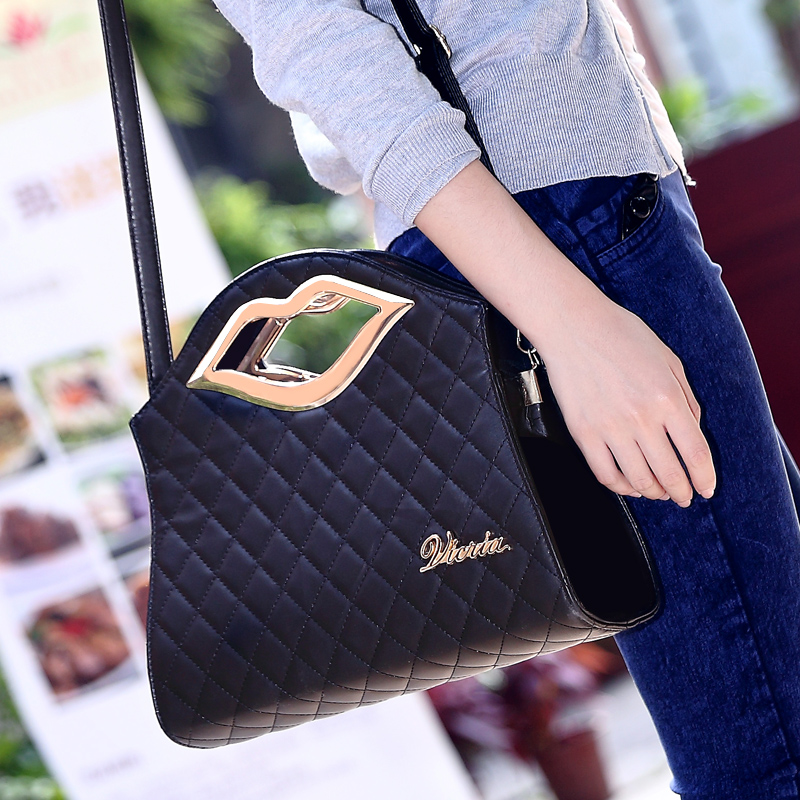 ! 2015 autumn fashion women lady female bags personalized small plaid messenger bag handbag Handbags - fashional accessories store