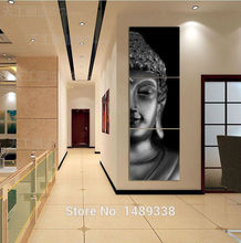 3 Panel Modern Buddha Print Painting Picture On Canvas Living Room Decor Landscape Painting With HD Art Picture No Frame(China (Mainland))