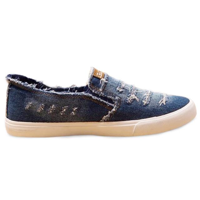2016 Весной и Осенью Квартиры Мужчины Холст Обувь Мода Высокое Качество женская Повседневная Обувь Низкого Топ Бренд Джинсовой Обувь Плюс Размер 45