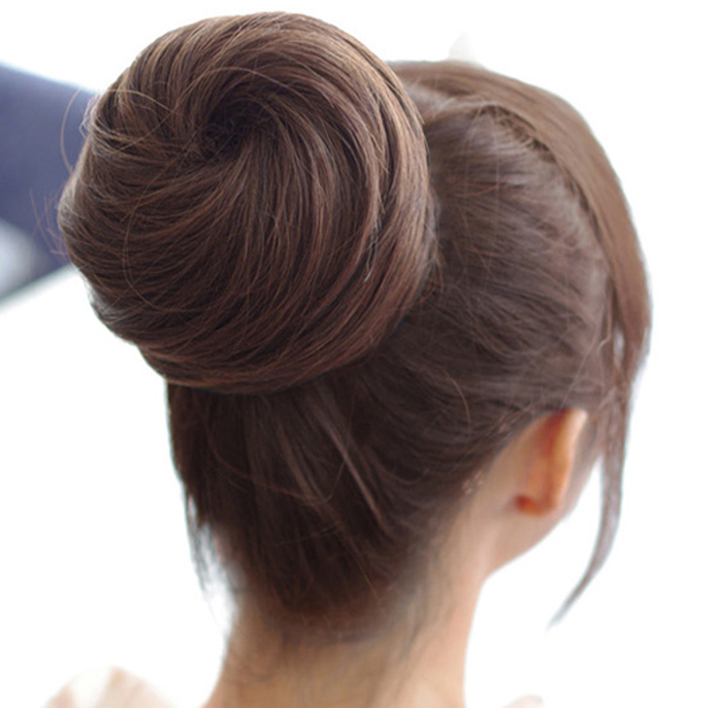 hair bun pieces brown download