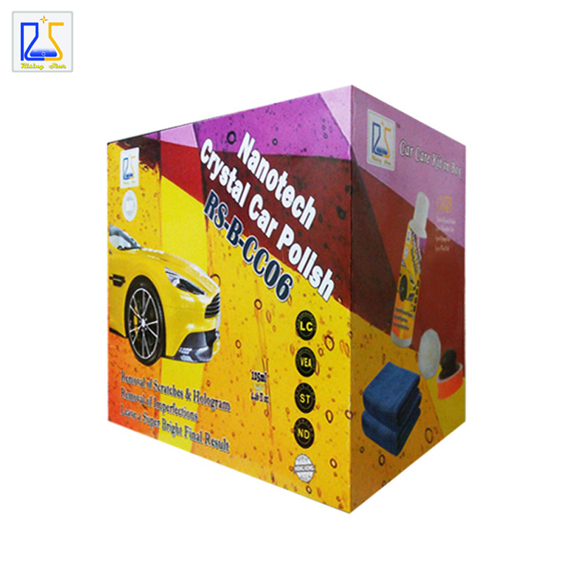 paint pad pro car paint polish paste car paint scratch remover auto care wax remove hologram and swirls 125ml free shipping(China (Mainland))