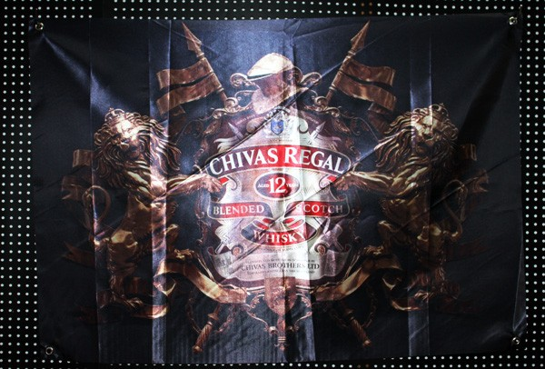 Chivas Regal Aged 12 years high definition true color flag poster banner 96*67CM(China (Mainland))