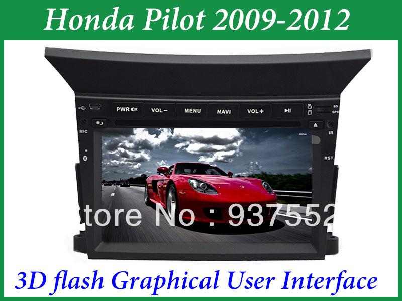 2009 Honda pilot dvd player