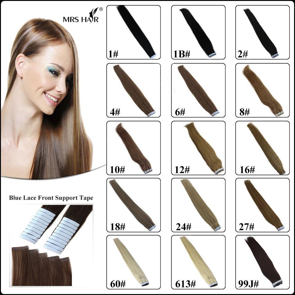 "Гаджет  20"" 22"" 1B# natural black tape hair extensions 2.5g 1.75inch 20pcs lot remy brazilian beauty women human straight 2014 promotion None Волосы и аксессуары"