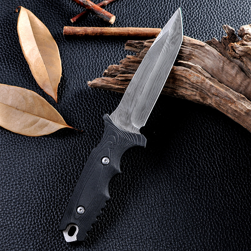 Buy New Design High Quality Cold Steel Facas Navajas Fixed Blade Knife Survival Outdoor Hunting Camping Knife Tactical Knife cheap