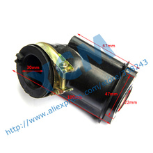 Intake Pipe 157-3 ATV Parts GY6 150CC Scooter Engine Parts Carburetor Manifoid intake Wholesale YCM