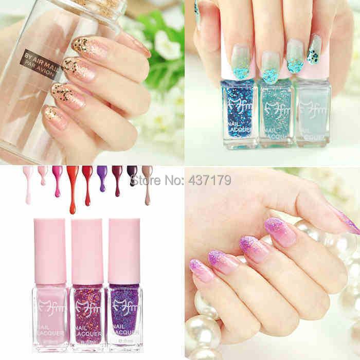 Magic Beauty Gradual Change Color Eco-friendly Painting nail polish oil 6ml 3 bottles 10 Choices - Shanghai Global Trade Co.,Ltd store