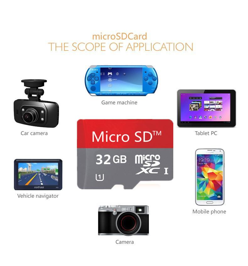 Micro sd card 128mb 8gb 16gb 32gb 64gb micro sd card 32gb class 10/memory card memory flash usb microsd(China (Mainland))
