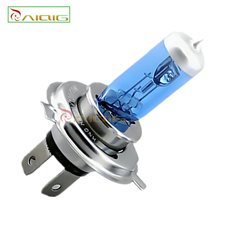 H4 100W 12V Halogen Bulb h4 super white Fog Lights High Power Car Headlights Lamp Light Source 6000K parking - GuangZhou YouCheng Trade Co., Ltd. store