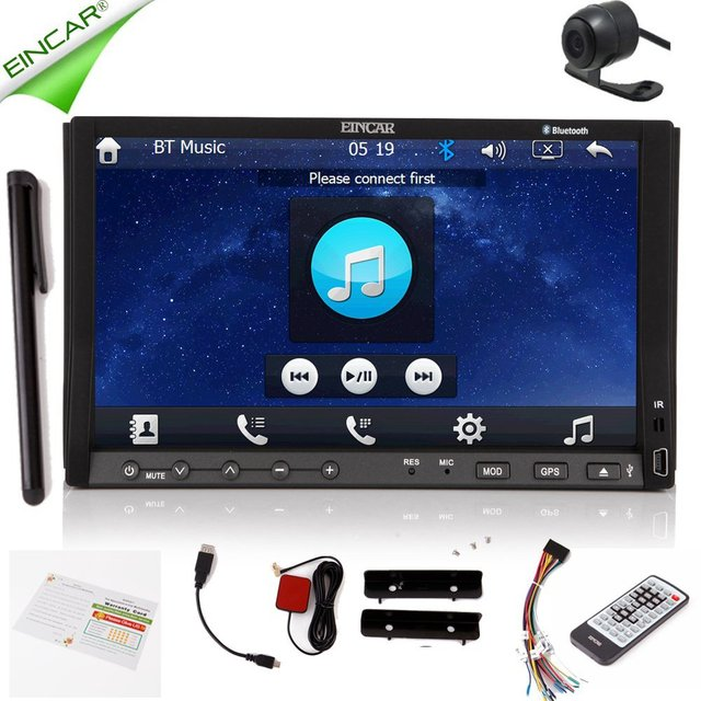 2015 eincar 7 touchscreen auto dvd gps navigation. Black Bedroom Furniture Sets. Home Design Ideas