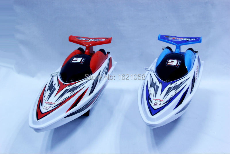 New Arrival Fashion design 4CH 2colors RC Boat Radio Max speed 10Km/h Woking Distance 100M Remote Control Speedboat for kids.(China (Mainland))