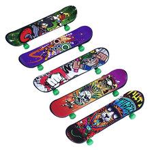 Finger Board Deck Mini Truck Skateboard Boy Kid Children Finderboard Toy Gift(China (Mainland))