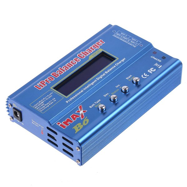 iMax B6 Digital LCD RC Lipo NiMh Battery Balance Charger For RC Helicopter RC Car Battery(China (Mainland))