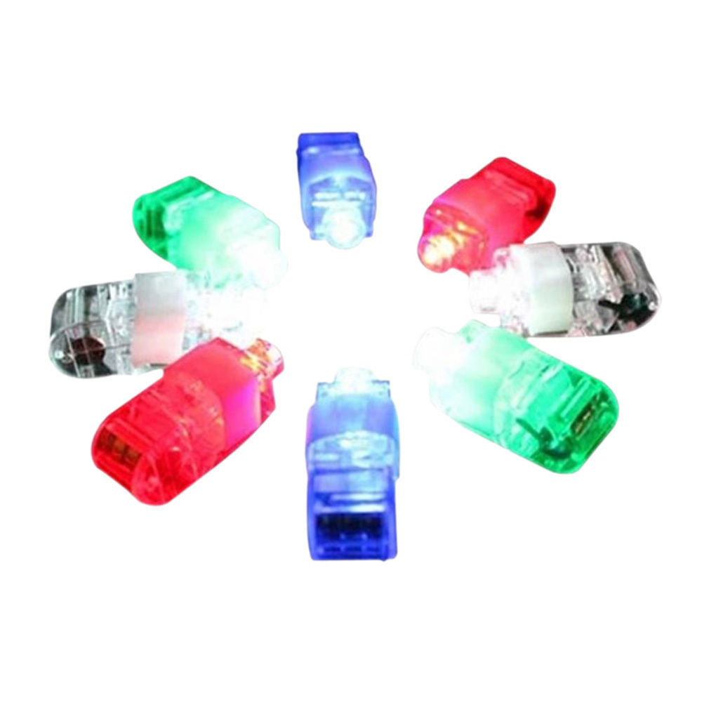 8 Color LED Laser Finger Ring Lights Beam Torch Party(China (Mainland))