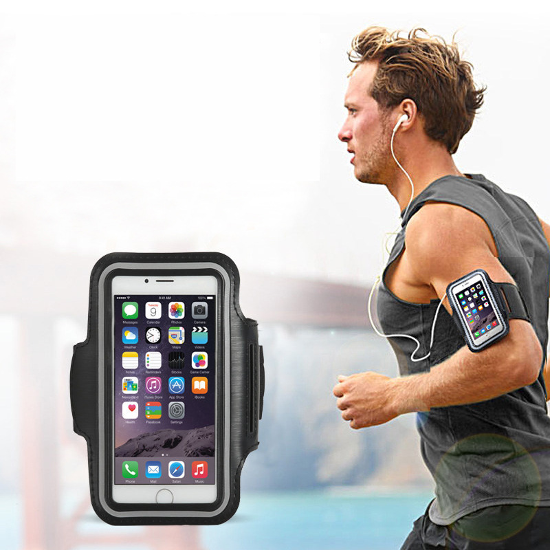 For Lenovo P780 S850 K3 note S660 S60 P70 Sisley S90 S930 S860 Waterproof Armband Sport Running Arm Band Pouch Case Phone Bag(China (Mainland))