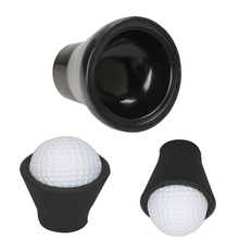 New Black Golf Putter Sucker Finger Ball Retriever Pick up Training Aids Golf Training Accessories(China (Mainland))