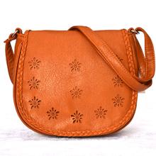 Новый 2014 женщин посланник сумки женщины сумка PU кожаные сумки ladied моды выдалбливают сумка Crossbody 4 цвета