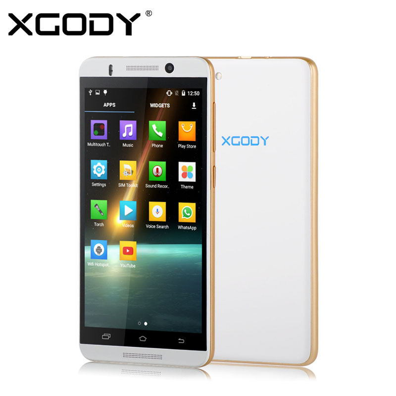 XGODY X800 5 inch Android 5.1 3G/2G Smartphone Unlocked MTK6580 Quad Core Cell Phone Dual SIM 512MB+4GB 2MP/5MP Mobile Phone(China (Mainland))