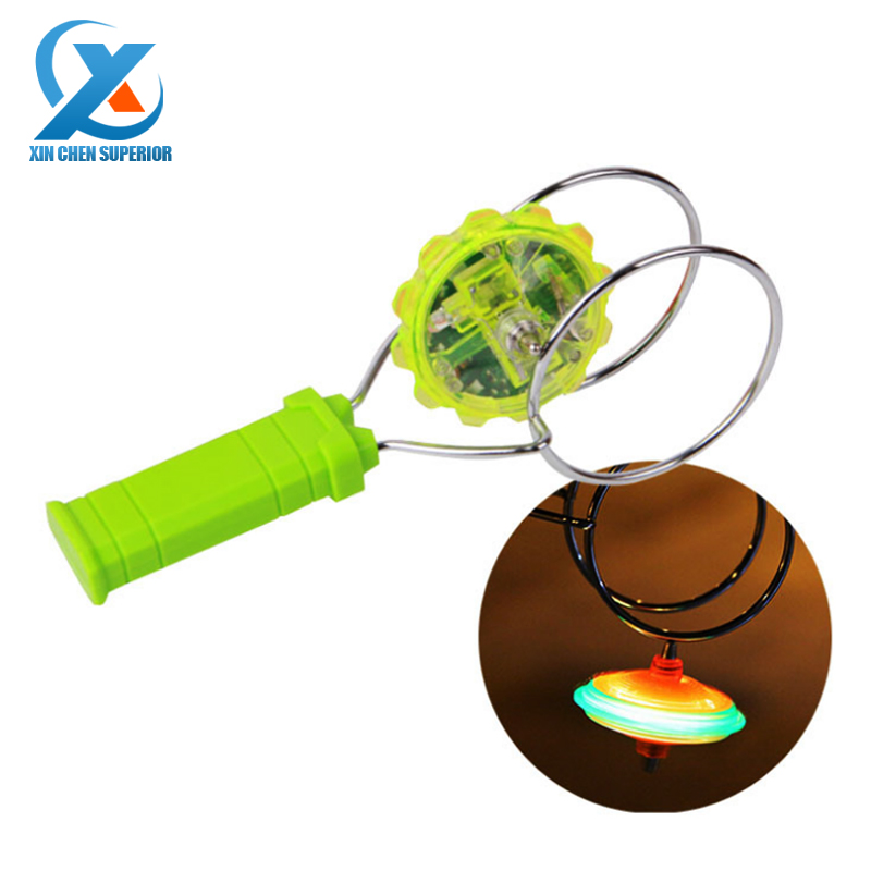 1pc Magic Glowing Gyro Electric Flashing Magnetic Spinning Top Luminous Beyblade Gyroscope Toy Classic Toys Fast Shipping(China (Mainland))