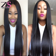 Grade 7a Cambodian Virgin Hair Straight 3 Bundles ZS Hair Products Cambodian Straight Virgin Hair Combodian Straight Weave
